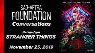 Conversations with Natalia Dyer of STRANGER THINGS