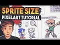 What SIze To Make PixelArt (Pixelart Tutorial for beginners)