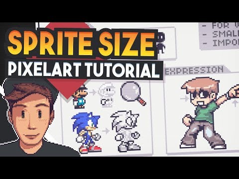 What SIze To Make PixelArt (Pixelart Tutorial for beginners)