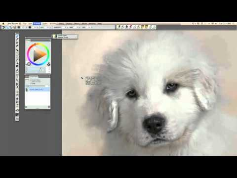 """""""Painting Animals"""" using Painter 12 with Master Heather Michelle"""