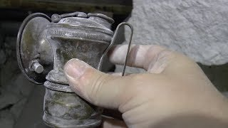 Finding a Rare Miner's Headlamp in the Dangerous, Abandoned Talc Mines of New Mexico