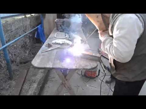 Сварка чугуна Обычным  электродом с медной проволокой