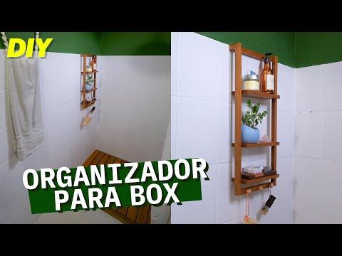 DIY - Organizador Box de BANHEIRO PEQUENO