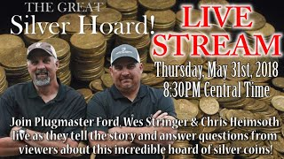 Live Silver Hoard FOUND Wrapup W/PlugMaster Ford