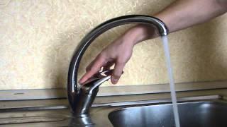 Смеситель на кухню(Кухонный смеситель, шаровый, высокий., 2014-01-04T06:16:52.000Z)