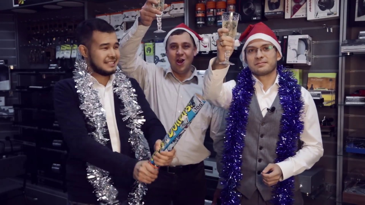 Новогоднее поздравление 2020 от команды Kinodrive.kz!