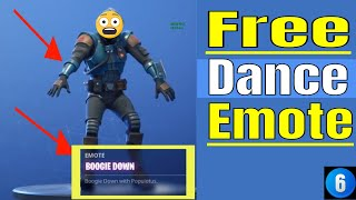 Unlock FREE Fortnite emote dance BOOGIE DOWN! (EASY) PC/PS4