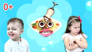 Do You Like Broccoli Ice Cream | Super Simple Song Nursery Rhyme by LiVa Kids
