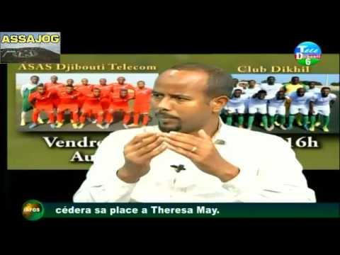 Djibouti: Barnaamijka Ciyaaraha      13/07/2016