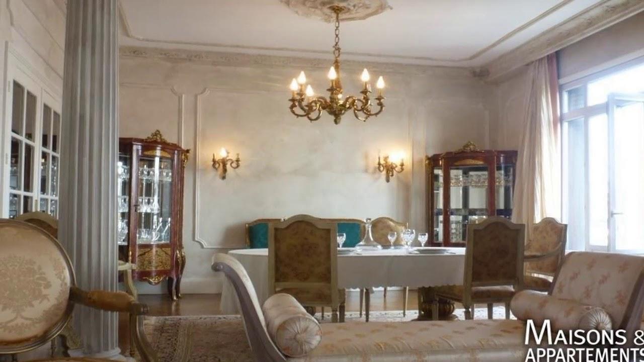 lyon 6eme appartement a vendre 1 070 000 214 m 5 pi ces youtube. Black Bedroom Furniture Sets. Home Design Ideas