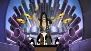 Scooby Doo And Kiss  shout it out loud