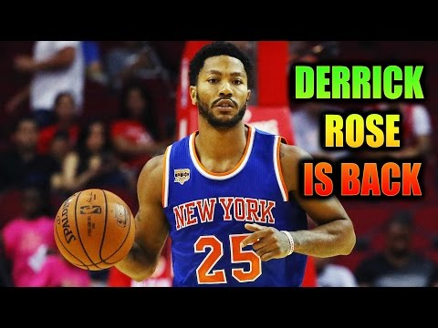 DERRICK ROSE CLEARED OF ALL OF CHARGES!- Ready For Knicks Season!