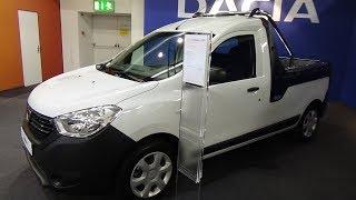 2018 Dacia Dokker Van Pick-up - Exterior and Interior - Auto Zürich Car Show 2017