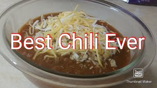 Make The Best Chili Ever! With Turkey...