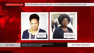 Muzvare Princess Betty Makoni Takes a Look at Mnangagwa
