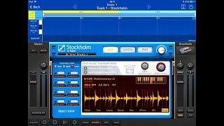 KORG Gadget STOCKHOLM - Import REX Files From AudioShare & Dropbox