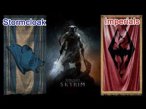 Stormcloaks or Imperials? Skyrim Political Analysis