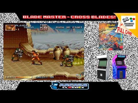 Blade Master/Cross Blades! - Arcade [Longplay]