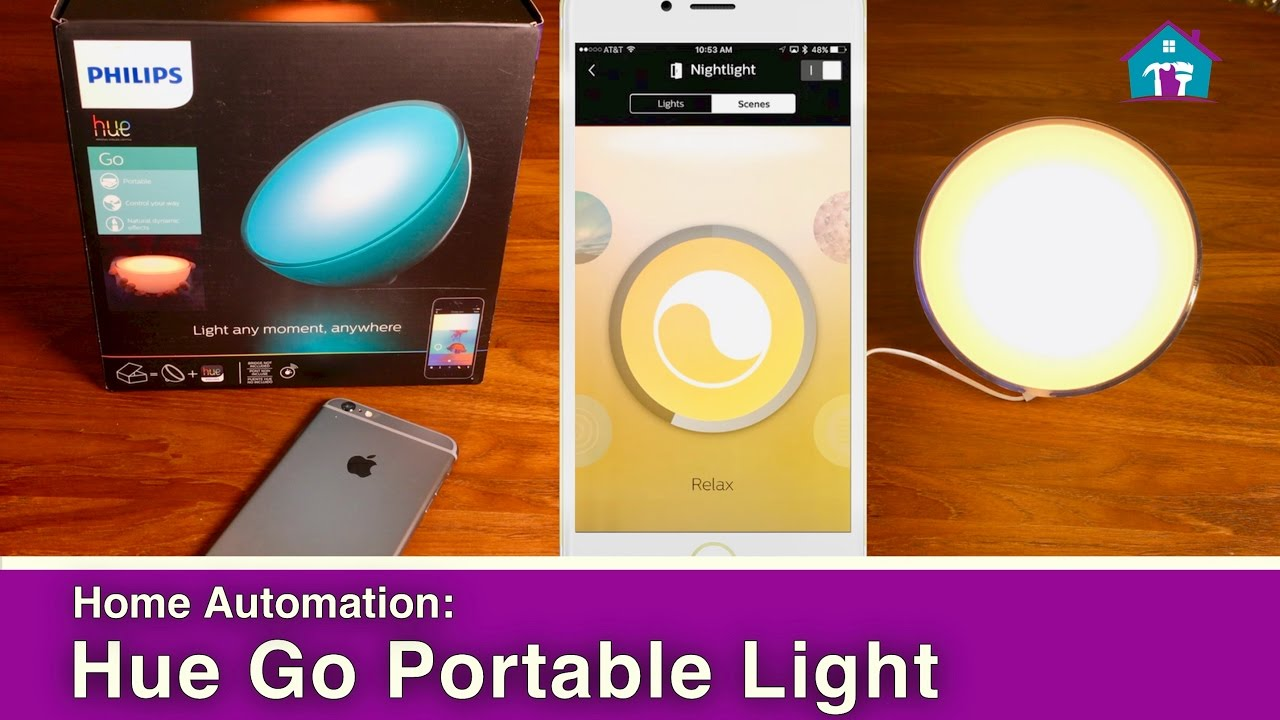 Light Automation Home Automation With Hue Go Smart Light
