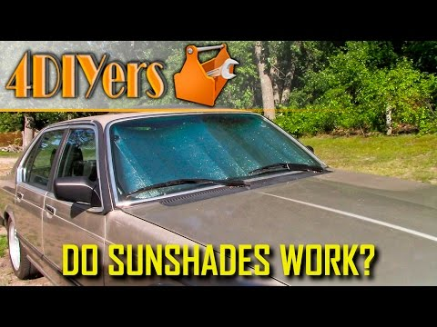 Does a Sunshade Actually Work?