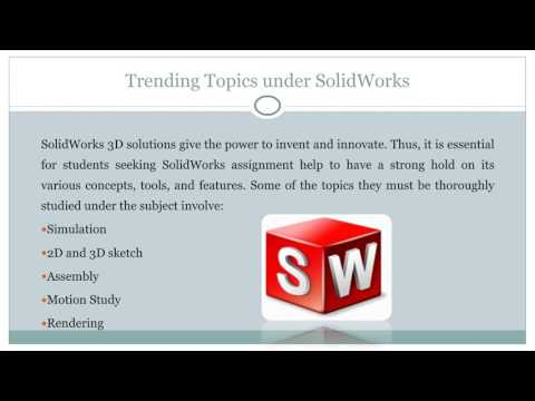 SolidWorks Assignment Help