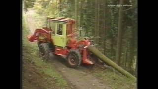 MB-trac Forst (Original Trac-Technik Film)