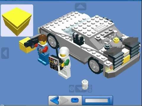Retour Vers Le Futur Lego Tutoriel Construction Delorean Lego