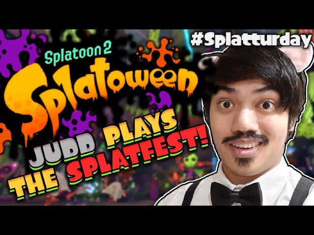 🔴 Judd Plays The Splatoween Splatfest! (Splatoon 2)