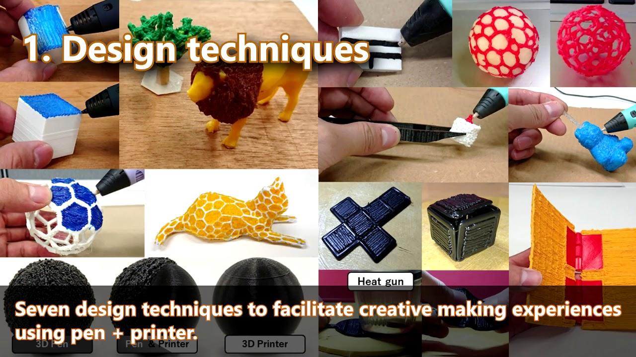 3D Pen + 3D Printer