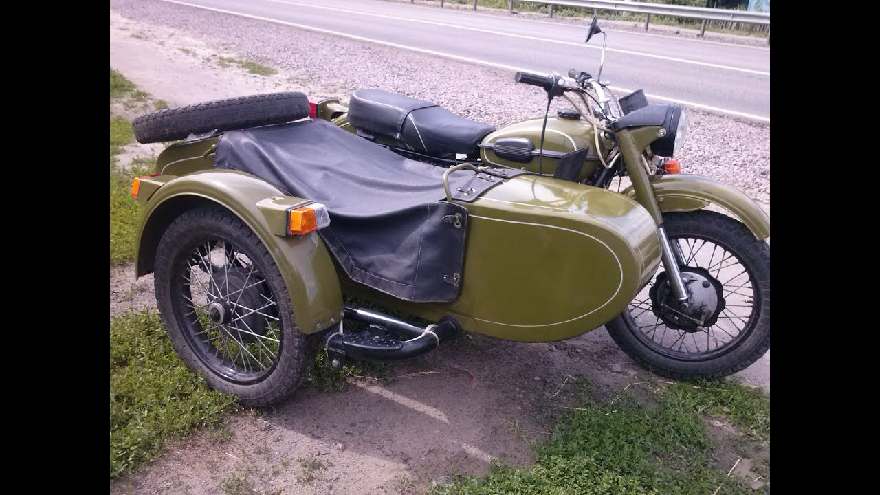 Мотоцикл Урал хаки #8