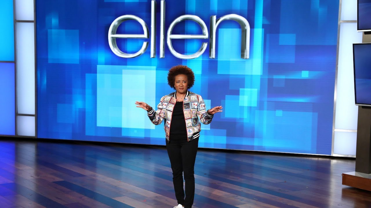 Ellen Can't Interrupt Guest Host Wanda Sykes Now - YouTube
