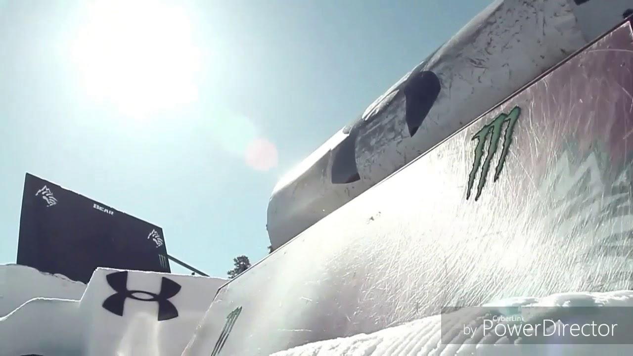 СУПЕР-КРУТЫЕ трюки на лыжах.