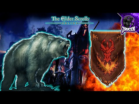 Bringing The Ice Storm   The Elder Scrolls Online PvP Gameplay   ESO Battlegrounds PvP Gameplay  