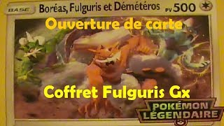 OUVERTURE POKÉMON COFFRET FULGURIS GX #15