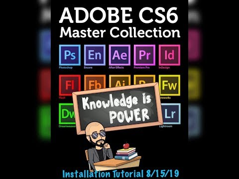 Adobe CS6 Tutorial 8/15/19 (Windows) thumbnail