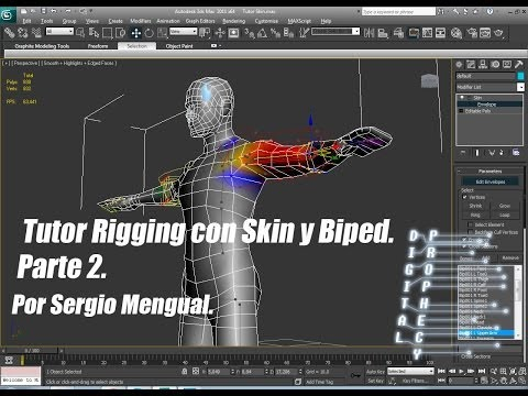 Tutor Rigging con Skin y Biped en 3DS MAX Parte 2