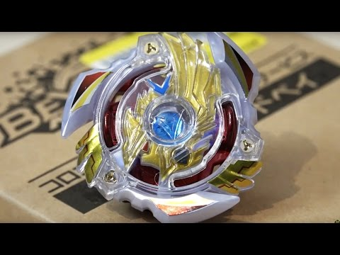 Victory Valkyrie .β.α LEGEND GOD BEY Unboxing & Review! - Beyblade Burst CoroCoro Limited Edition!