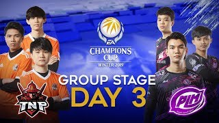 EACC Winter 2019: Group Stage Day 3 (14/12/2019)