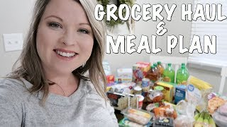 HUGE GROCERY HAUL AND MEAL PLAN FOR 2 WEEKS | ON A BUDGET