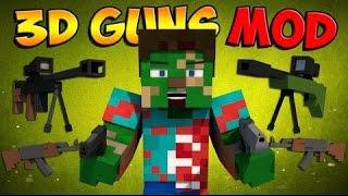 Minecraft Mod Tanıtımları: Silah Modu ! (3D Guns)