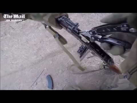 British Soldier Fixes Weapon Jam With Multitool During An Intense Firefight