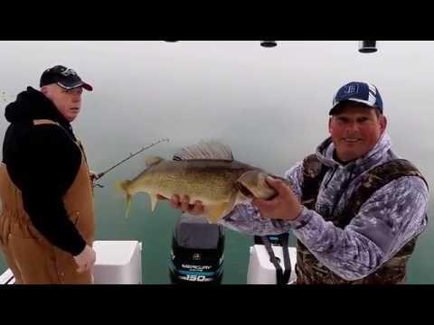 12-14-14  Saginaw Bay - Walleyes