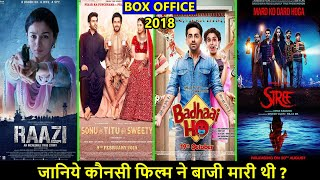 Raazi, Badhaai Ho, Sonu Ke Titu Ki Sweety vs Stree 2018 Budget, Box Office Collection and Verdict
