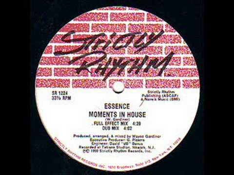 Essence - Moments In House (Strictly Rhythm)