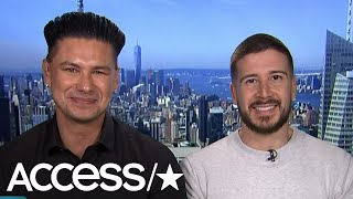 Pauly D & Vinny Get Stumped When Asked If They've Ever Thought About Marrying An Ex | Access