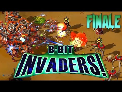 8-Bit Invaders #8 Transformation, Marines Finale