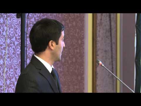"""Energy Efficiency: Economic & Institutional Aspects and Perspectives"" - Shahmar Hajiyev"