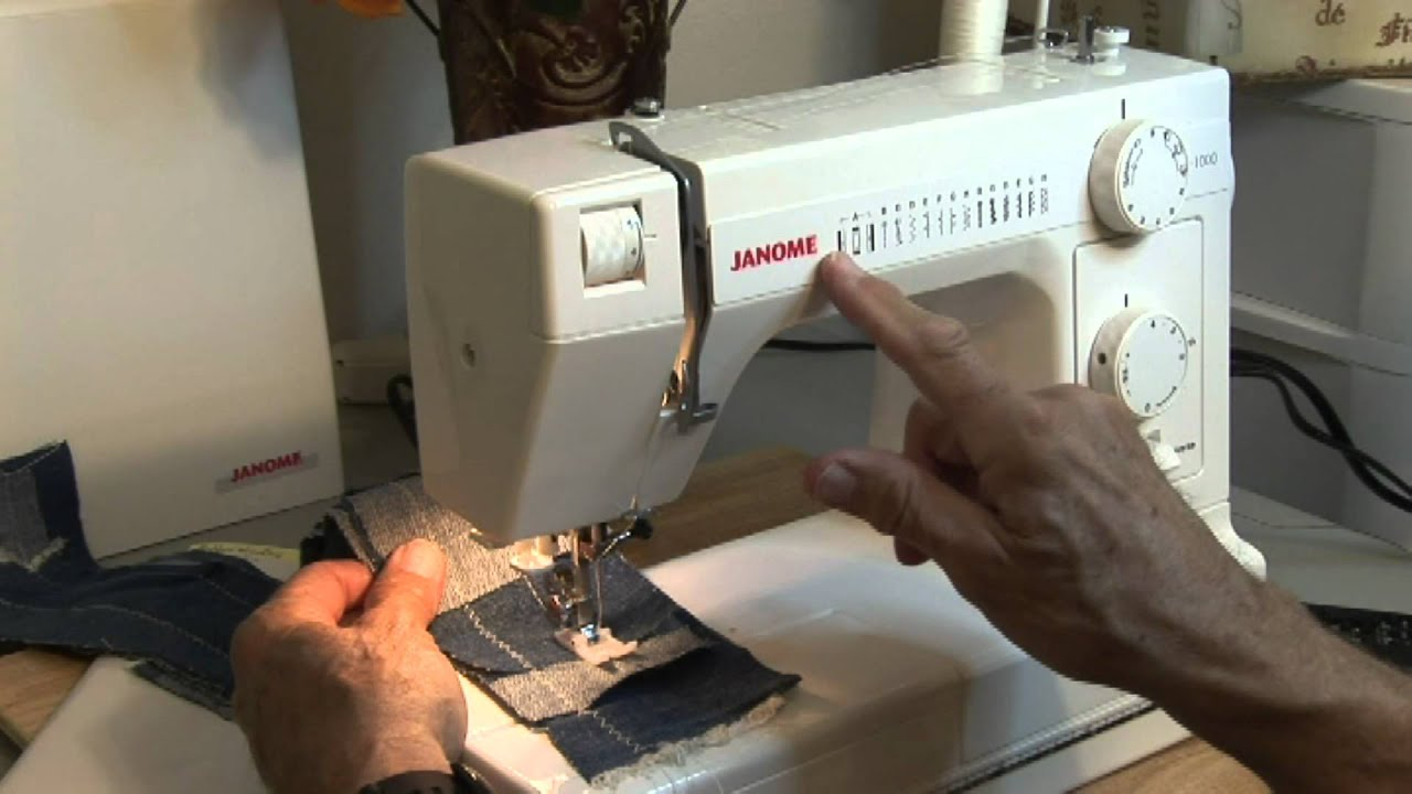janome hd 1000 sewing machine demo 1 youtube rh youtube com janome 344 instruction manual Janome Embroidery Design Library