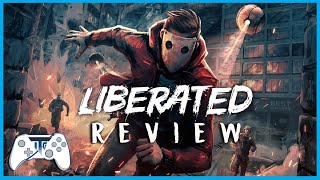 Liberated Review - Comic Book Corruption! (Video Game Video Review)