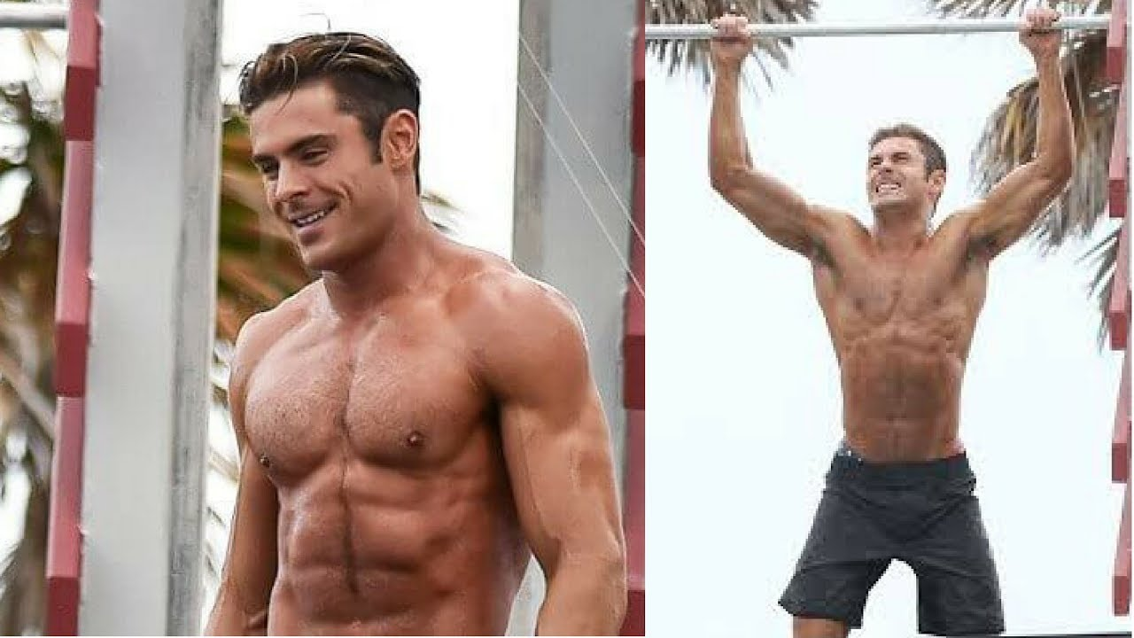 Zac Efron Baywatch Workout and Diet - YouTube